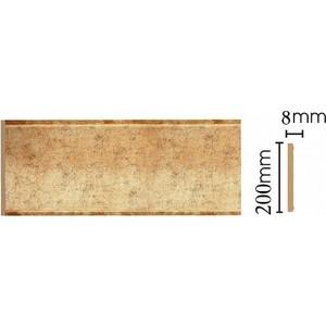 Панель Decomaster Античное золото цвет 552 200х9х2400 мм (B20-552) молдинг decomaster античное золото цвет 552 85х25х2400 мм 152 552