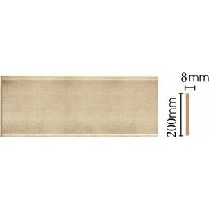 Панель Decomaster Матовое золото цвет 933 200х9х2400 мм (B20-933)