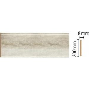 Панель Decomaster Матовое серебро цвет 937 200х9х2400 мм (B20-937)