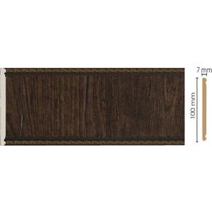 Панель Decomaster Темный шоколад цвет 1 100х7х2400 мм (C10-1)