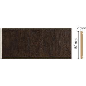 Панель Decomaster Темный шоколад цвет 1 150х7х2400 мм (C15-1)