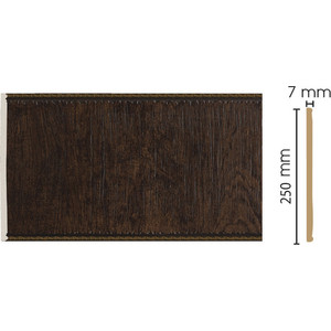 Панель Decomaster Темный шоколад цвет 1 250х7х2400 мм (C25-1)