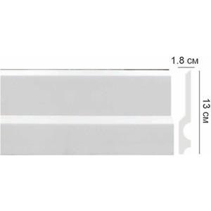 Профиль Decomaster DECOMASTER цвет белый 130х18х2000 мм (CF 14)