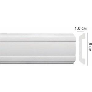 Профиль Decomaster DECOMASTER цвет белый 80х16х2000 мм (CW 13)