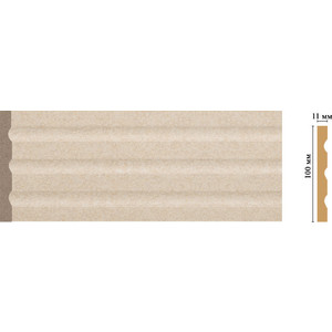 Пилястра Decomaster Ионика цвет 18D 100х11х2400 мм (D201-18D) decomaster цветная панель decomaster f10 13 100х6х2400