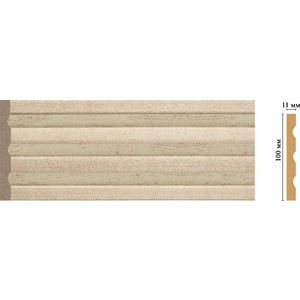 Пилястра Decomaster Эрмитаж цвет 59 100х11х2400 мм (D201-59)