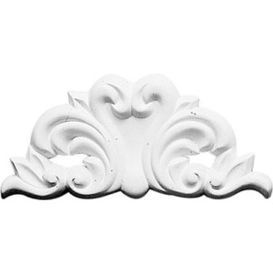 Орнамент Decomaster DECOMASTER-1 цвет белый 100х220х15 мм (DA 701)