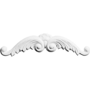 Орнамент Decomaster DECOMASTER-1 цвет белый 50х230х15 мм (DA 705)