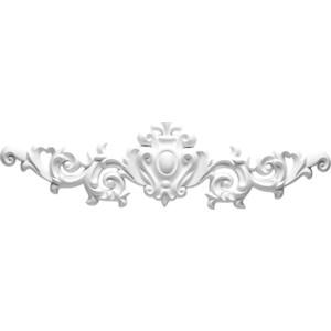 Орнамент Decomaster DECOMASTER-1 цвет белый 170х570х30 мм (DA 711)