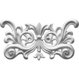 Орнамент Decomaster DECOMASTER-1 цвет белый 95х180х15 мм (DA 720)