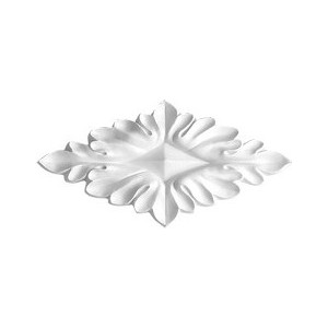 Орнамент Decomaster DECOMASTER-1 цвет белый 170х80х15 мм (DA 754)