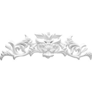 Орнамент Decomaster DECOMASTER-1 цвет белый 300х90х17 мм (DA 771)