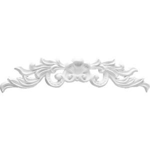 Орнамент Decomaster DECOMASTER-1 цвет белый 295х45х20 мм (DA 772)
