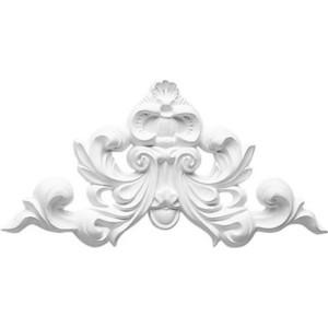 Орнамент Decomaster DECOMASTER-1 цвет белый 225х120х20 мм (DA 776)