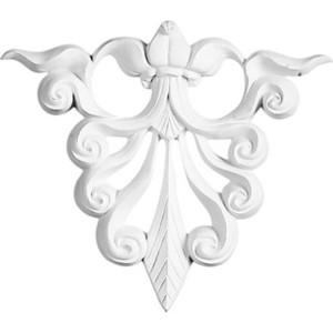 Орнамент Decomaster DECOMASTER-1 цвет белый 150х132х15 мм (DA 777)