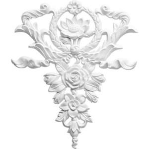 Орнамент Decomaster DECOMASTER-1 цвет белый 270х320х20 мм (DA 778)