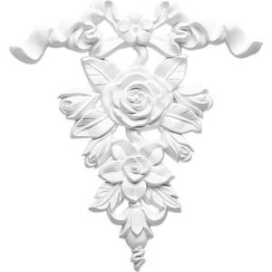 Орнамент Decomaster DECOMASTER-1 цвет белый 215х230х20 мм (DA 779)