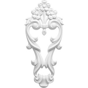 Орнамент Decomaster DECOMASTER-1 цвет белый 405х180х27 мм (DA 781)