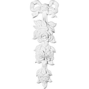 Орнамент Decomaster DECOMASTER-1 цвет белый 400х130х40 мм (DA 784)
