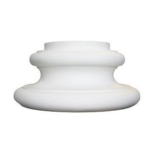 Полуоснование Decomaster DECOMASTER-2 цвет белый 195х390х165 мм (DC-8302-8-H)