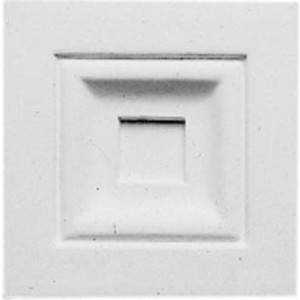 Декоративное дополнение Decomaster DECOMASTER-2 цвет белый 105х105х30 мм (DD 200)