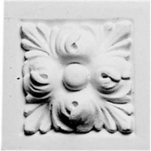 Декоративное дополнение Decomaster DECOMASTER-2 цвет белый 105х105х40 мм (DD 210)