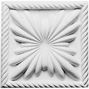 Декоративное дополнение Decomaster DECOMASTER-2 цвет белый 110х110х25 мм (DD 230)