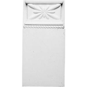 Основание Decomaster DECOMASTER-1 цвет белый 230х110х27 мм (DD 320)