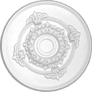 Розетка потолочная Decomaster DECOMASTER-2 цвет белый 348 мм (DM-0361)