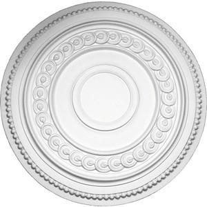 Розетка потолочная Decomaster DECOMASTER-2 цвет белый 460х108 мм (DM-0461)