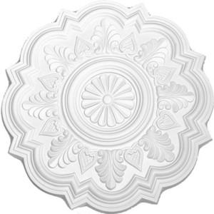 Розетка потолочная Decomaster DECOMASTER-2 цвет белый 514 мм (DM-0471)