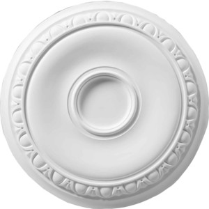 Розетка потолочная Decomaster DECOMASTER-2 цвет белый 615х43 мм (DM-0623)