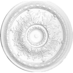 Розетка потолочная Decomaster DECOMASTER-2 цвет белый 710 мм (DM-0722)