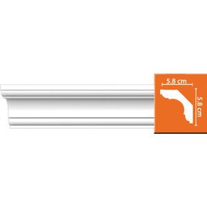 Профиль Decomaster DECOMASTER-2 цвет белый 58х58х2400 мм (DP 110)