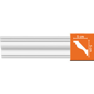Профиль Decomaster DECOMASTER-1 цвет белый 50х50х2400 мм (DP 205) профиль decomaster decomaster 2 цвет белый 50х50х2400 мм 96118