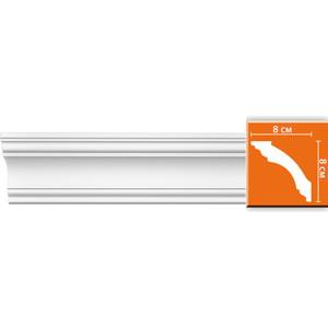 Профиль гибкий Decomaster DECOMASTER-2 цвет белый 80х80х2400 мм (DP 213 fl)