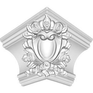 Угол внешний Decomaster DECOMASTER-1 цвет белый 145х215х215 мм (DP 217 E)