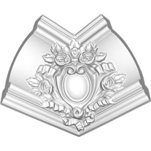 Угол внутренний Decomaster DECOMASTER-1 цвет белый 145х200х200 мм (DP 217 R)