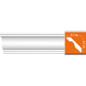 Профиль Decomaster DECOMASTER-1 цвет белый 67х67х2400 мм (DP 336)