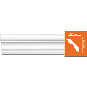 Профиль Decomaster DECOMASTER-1 цвет белый 63х63х2400 мм (DP 337)