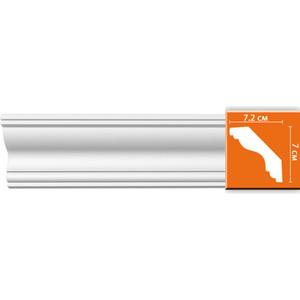 Профиль Decomaster DECOMASTER-1 цвет белый 72х70х2400 мм (DP 339)
