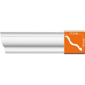 Профиль Decomaster DECOMASTER-1 цвет белый 115х105х2400 мм (DP 356)