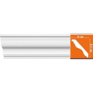 Профиль Decomaster DECOMASTER-1 цвет белый 80х85х2400 мм (DP 357)