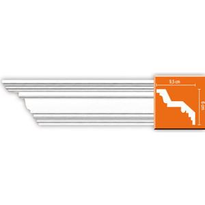 Профиль Decomaster DECOMASTER-1 цвет белый 95х60х2400 мм (DP 374)