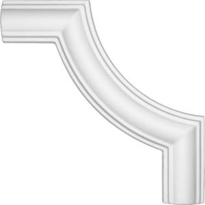 Угол Decomaster DECOMASTER-2 цвет белый 140х140х13 мм (DP 8032 B)