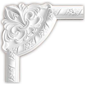 Угол Decomaster DECOMASTER-1 цвет белый 240х240х25 мм (DP 8051 C)