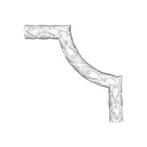 Угол Decomaster DECOMASTER-1 цвет белый 200х200х20 мм (DP 8052 B)