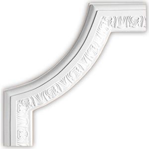 Угол Decomaster DECOMASTER-1 цвет белый 270х270х22 мм (DP 8053 B)
