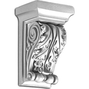 Консоль Decomaster DECOMASTER-2 цвет белый 154х90х74 мм (DQ-9913)