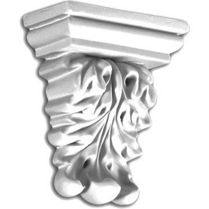 Консоль Decomaster DECOMASTER-2 цвет белый 105х90х43 мм (DQ-9952)